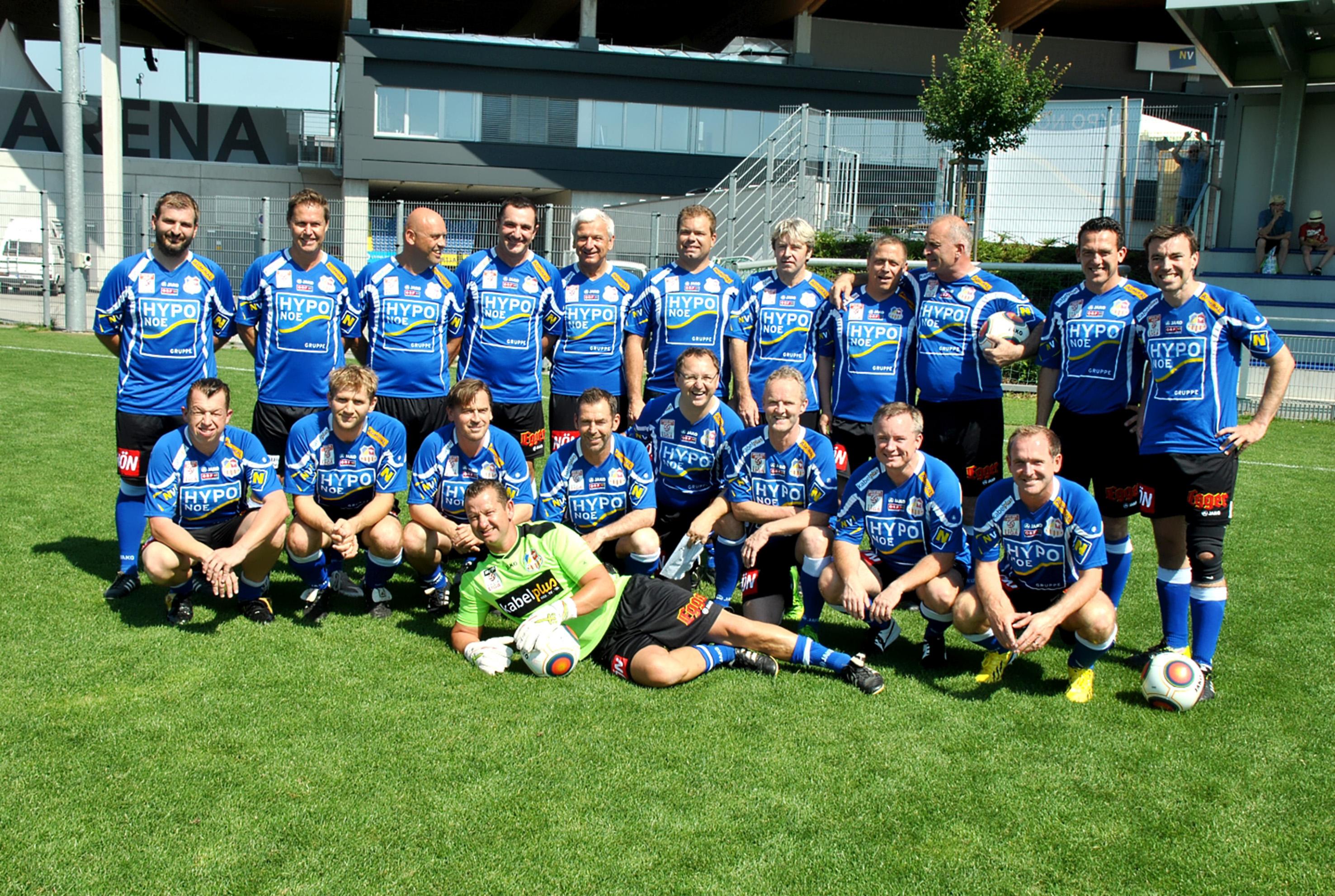 Club Niederösterreich-Fußballer gastieren in der Landeshauptstadt – 3.7.2015